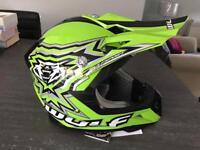 Kids wulfsport motocross helmet size youth XL new