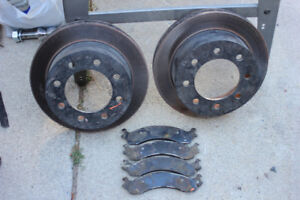 2002 Dodge 2500 brake rotors and pads (front)