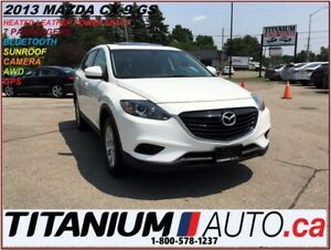 2013 Mazda CX-9 AWD+Camera+GPS+Leather Heated Seats+Sunroof+Blue