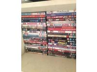 Over 60 DVDs