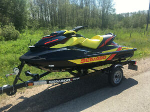 2015 Sea Doo GTR 215 Supercharged Only 7 hours!!  With Extras