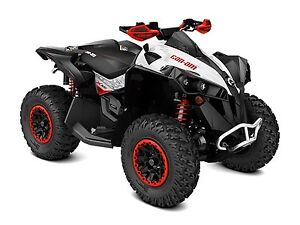 2017 Can-Am Renegade X xc 1000R Black, White  Can-Am Red