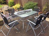 6 Seater garden furniture set