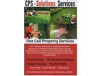 CPS - Garden Maintenance - Jet Washing - Grass Cutting - Panel Painting - Hedge Trimming