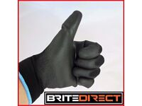 24 PAIRS PU Coated Work Gloves Nylon Safety PPE Rubber Builder Gardening Engineering