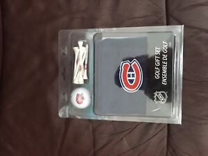 Montreal Canadians golf gift set