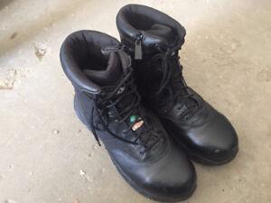 Black Men's Size 13 Steel-Toe Boots