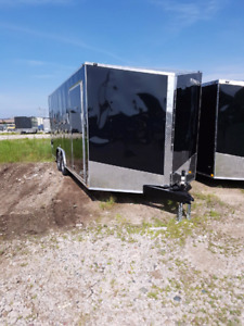 New 2018 7x14 8.5x16 18 20 24 28 32 All sizes enclosed trailers