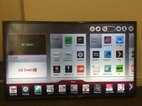"42"" LG 3D LED SMART TV 100Hz BUILT IN FREEVIEW HD FREESAT FULL HD CAN DELIVER"