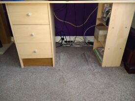 Dressing Table with 3 draws