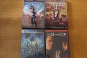 ++ DVD's, all in excellent condition