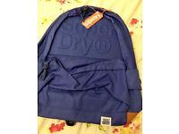Superdry blue backpack