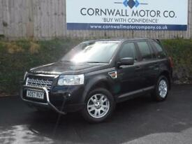 LAND ROVER FREELANDER 2.2 TD4 SE 5d 159 BHP MOT/SERVICE JUST DONE + NEW (black) 2007