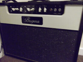 Bugera all valve guitar amp 30 watts with 1/2 power option. Hardly used. Very loud.