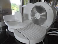 Cookworks food slicer, only used once, as good as new.