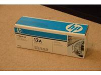 NEW HP LaserJet 12A Print Cartridge Ink Toner Genuine Q2612A