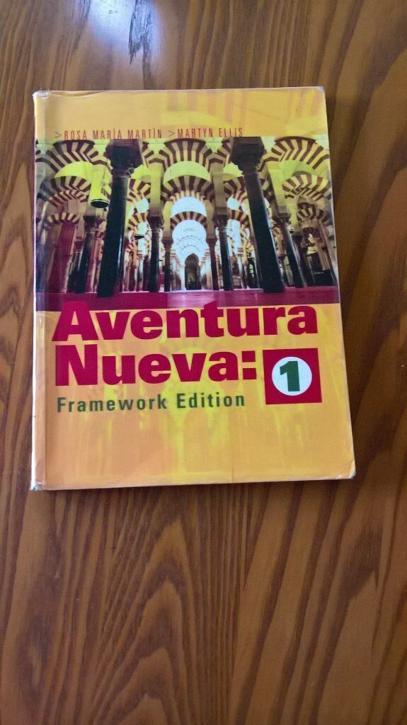 Aventura Nueva 1 Pupils Book 1in Canterbury, KentGumtree - Aventura Nueva is a communicative three part Spanish course in line with the new framework, and is suitable for a wide ability range. It is structured in 6 units of 5 lessons, with revision and auto evaluation pages. ISBN 10 0340868805 Publisher...