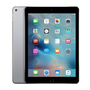 Apple iPad Air 2 64GB Space Grey Wi-fi only with Apple leather