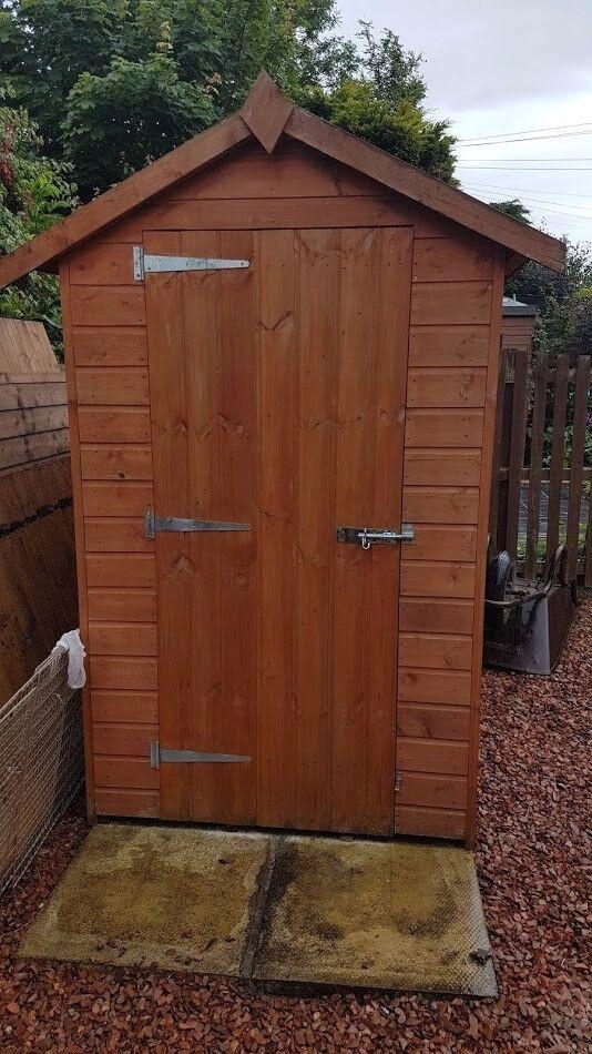 6x 4 shiplap garden shed - Garden Sheds Edinburgh