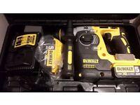 Brand NEW DeWalt DCH273P2 18v 2x5.0ah XR Brushless SDS Plus Rotary Hammer