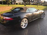 Stunning Jaguar XK black 4.2 convertible