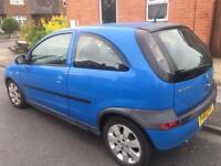 2002 Vauxhall Corsa Sxi 1.2 16v