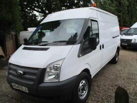 2014 Ford Transit 2.2TDCi NO VAT 50000 MILES GUARANTEED Med Roof Van 350 LWB