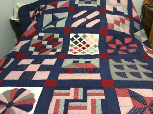 HAND MADE HAND QUILTED GORGEOUS QUILTS 250.00 EACH