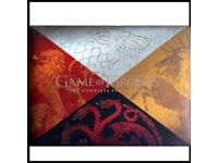 GAME OF THRONES SEASON ONE BLU RAY Limited, Rare Edition! Dragon egg!