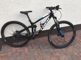 Trek Fuel EX5 full suspension bike - as new -used five times!