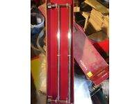 Towel rail and tissue roll holder for sale