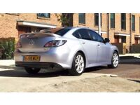 Mazda 6 2.0 TD SPORT 2009 XENON LIGHTS CALL 07534101444 E/FOLDING MIRROR HEATED SEAT Mp3 £2800