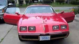 1979 FIREBIRD RED BIRD EDITION PACKAGE - RARE 1 OF 177 IMPORTED