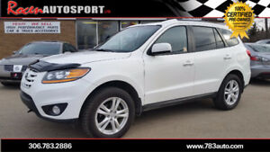 CERTIFIED 2010 Santa Fe Limited  AWD - LEATHER - SUN - YORKTON
