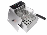 NEW COMMERCIAL DEEP FAT FRYERs - SINGLE AND DOUBLE AVAILABLE