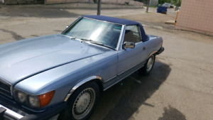 1988 Mercedes benz 560 SL soft stop