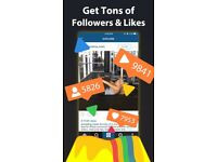 Instagram Followers, Likes and Views UK Seller