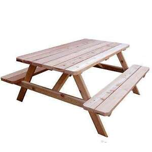 *WANTED* - 6 to 8 FT PICNIC TABLE