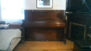 Steinway & Sons Upright Piano