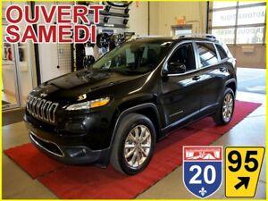 2016 Jeep Cherokee LIMITED * 4X4 * CUIR * TOIT * NAV