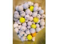 100 Mixed Used Golf Balls
