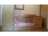 Mothercare 5pce Nursery Furniture