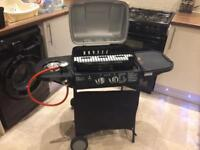 Brand new gass bbq with hob never used
