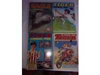 4 Tiger and eagle Annuals