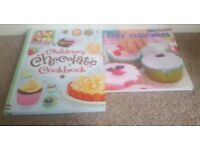 2 kids cookbooks great condition