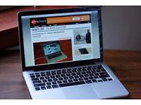 Apple Macbook Pro 13inch . I5 -4gb ram - 1000GB . Adobe , final cut , logic pro