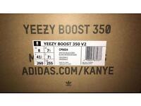 Yeezy Boost 350 V2 Zebra UK 7.5