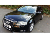 2012 AUDI A3 2.0 TDI -38700 MILES -S TRONIC WITH PADDLE SHIFT