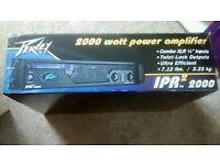 Peavey ipr 2000w power amp