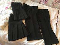 2 pairs of trousers and skirts